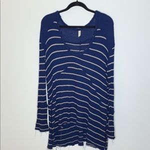 Free People Striped Thermal